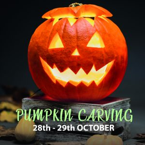 Pumpkin carving Beadlam Grange Helmsley