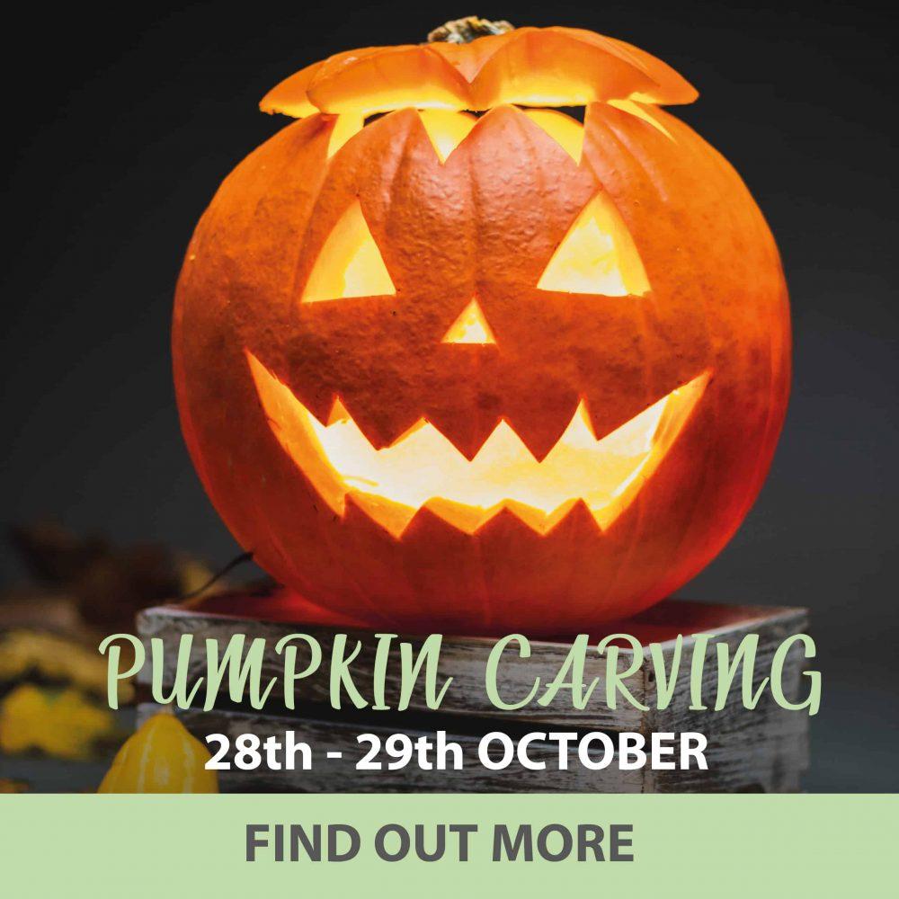 Pumpkin Carving at Beadlam Grange Helmsley this Halloween