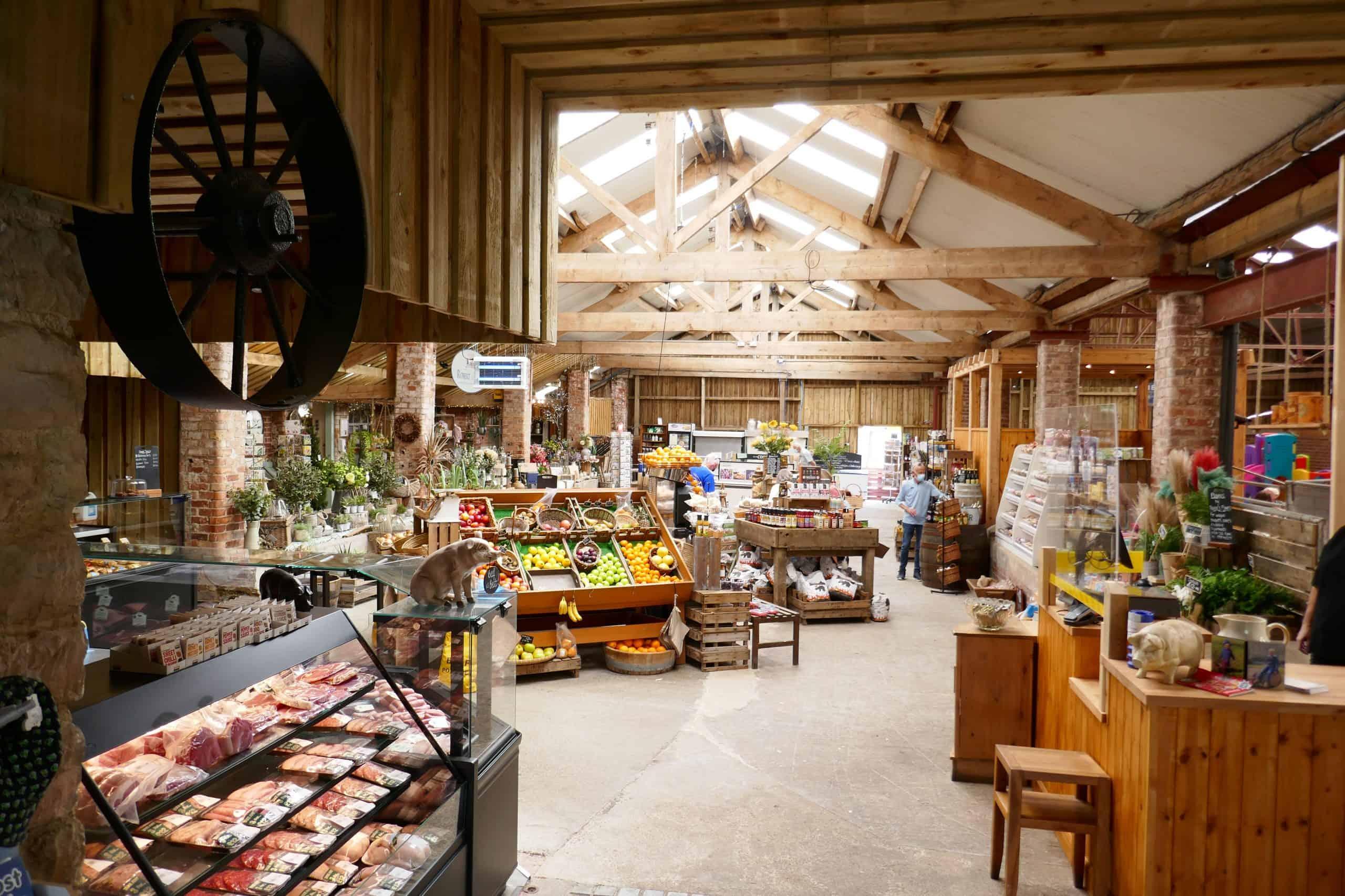 Farmshop and Delicatessen at Beadlam Grange